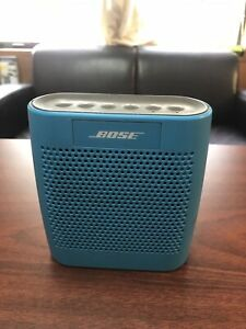 Bose SoundLink Color Portable Bluetooth Wireless Speaker-Blue perfect condition