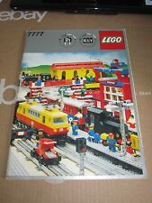 Lego 7777 Train Ideas Book 83-page vintage instructions classic town 12v 1981