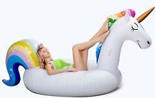 Giant Unicorn float Inflatable Pool Floatie Adult raft swimming lounge