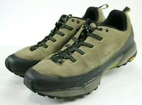 Patagonia Scree Shield $120 Men's Trail Hiking Shoes Size 12 Olive Green Tan