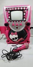Monster High Karaoke Machine, Cd player