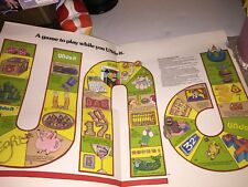 Vintage 7-Up the Uncola 'UNdo it' Game, early 70's 7UP uncola paper game LARGE