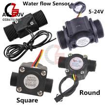 Water Flow Sensor Dn25 Dc 5 24vac 220v 3a G12 Fluid Flowmeter Switch Counter