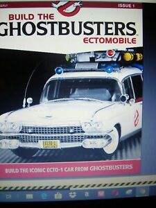 EAGLEMOSS BUILD THE GHOSTBUSTERS ECTOMOBILE ECTO 1 PARTWORKS 1:8 SCALE