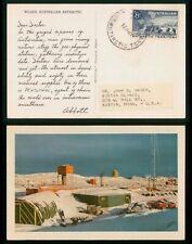 Mayfairstamps Australia 1967 Antarctic Territory Dear Doctor to Minnesota Postca
