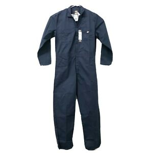 Dickies Mens Basic Blended Coverall Dark Navy Blue XL Tall Overall