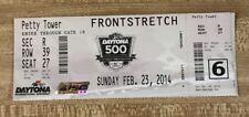 2014 Daytona 500 Full Used Nascar Race Ticket Winner Dale Earnhardt Jr