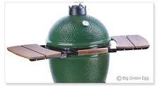 Wooden Shelves EGG Mate for Medium (M) Big Green Egg - 2 Shelves Wooden Slats