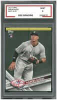 AARON JUDGE 2017 TOPPS #NYY-16 RC  ~ BSG Graded 9