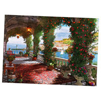 1000 Piece Jigsaw Puzzle for Adults Kids - Educational Toy - Rose Corridor