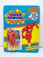 Vintage 1984 Kenner Super Powers FLASH Action Figure Unpunched MOC
