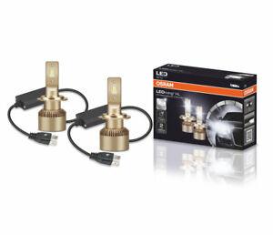 New Osram H7 LED Cool White 64210DWS 6000K PX26d 2200lm 2 bulbs