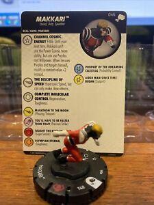 Heroclix The Mighty Thor set Makkari #046 Rare figure w/card!