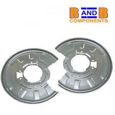 Bmw E46 330i 330d arrière disque de frein plaque arrière paire 34211166108 107 A1090