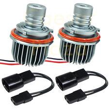 2 BMW CREE 10W Angel Eye LED Halo Ring Marker Light Bulbs E39 E53 E60 E61 E87