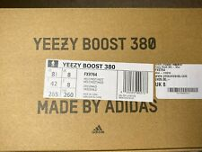New Adidas Yeezy 380 Mist Non-Reflective Men US 8.5