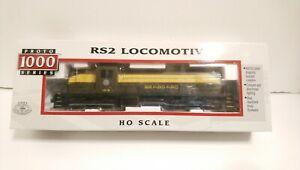 Proto 1000 HO Train NIB Seaboard Alco RS2 Powered Diesel Locomotive #1619