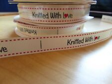 Berties Bows 16mm Ribbon Knitted with Love in 2m, 5m, 10m and 25m