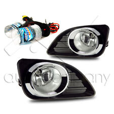 2010-2011 Toyota Camry Fog Light w/Wiring Kit & HID Conversion Kit - Clear
