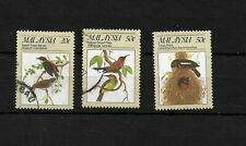 Malaysia 1988 Protected Birds, selection used (8172)
