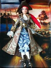 2007 * THE PIRATE * BARBIE DOLL. GOLD LABEL.