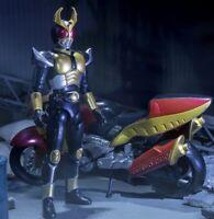 Japan Rare Bandai Shokugan Shodo-X Kamen Rider Agito with Machine Tornador Set