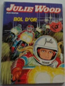 Julie Wood Bowl Gold Eo Jean Graton 1980 Good Condition Edition Fleurus