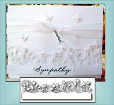 SPRING BORDER metal dies MEMORY BOX die 98115 All Occasion,flowers,leaves