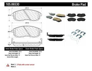 Frt Super Premium Ceramic Brake Pads  Centric Parts  105.06530