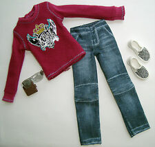 Barbie/ KEN Clothes/Fashions Shirt/Jeans/Shoes And Accessories NEW!