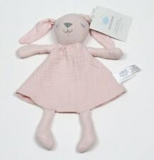 Cloud Island Pink Muslin Bunny Rabbit Baby Security Blanket Lovey NWT