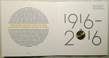 2016 Canada Women's Right to Vote $1 Dollar Loonie Coin in Collector Card Folder
