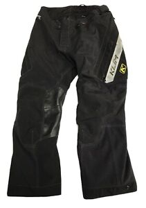 "Klim Badlands Pro Pant Black - 36"" x 31"" 4053 RN104486 CA51926 Gore-Tex, 3DO"