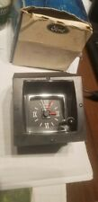 1970 - 1974 Lincoln Continental, Town Coupe / Town Car Clock, NOS, Excellent