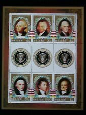 BELIZE '1986 **MNH BF69 YT 8,50 EUR PRESIDENTS OF UNITED STATES OF AMERICA,SEAL