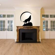Wolf Moon Story Decal Vinyl DIY Art Wall Stickers Home Room Decor baca