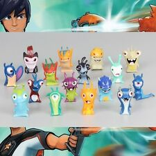 16pcs Lot Slugterra Elemental Slugs Toy Slug Terra Figure Figurine No Box