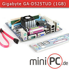 Gigabyte ga-d525tud Mini-ITX placa madre o base (con 1gb Kingston RAM)