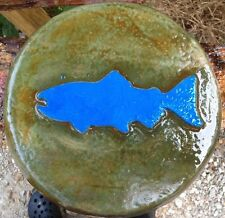 Fish Stone 1, stepping stone, plastic mold, concrete mold, cement, plaster