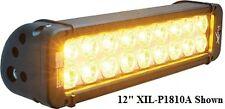 Vision X Xmitter Prime 5 Amber Led Light Bar 10 Deg Beam Six 3 Watt Leds