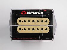 DiMarzio Super Distortion 7 String Bridge Creme W/Black Poles DP 712