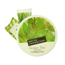 [THE FACE SHOP]  Herb day Cleansing Cream [Green tea] / Korea cosmetic