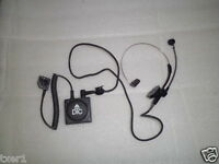 DTC Dynatech Tactical Communications RHS-3 Headset NO EARPHONE COVER