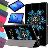 "Sottile Custodia pelle Per Huawei Mediapad T3 10 9.6 "" M5 8 Smart Magnetico"