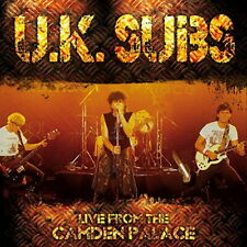 U.K. SUBS-LIVE FROM LONDON-IMPORT CD WITH JAPAN OBI E25