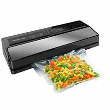 New listing Geryon Vacuum Sealer Machine, Automatic Food Sealer for Food Savers (Silver)