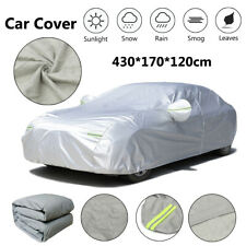 S Small Size Full Car Cover Cotton Waterproof Breathable Rain Snow UV Protection