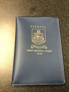 Bermuda First Decimal Issue 1970 Coins-Set of 5