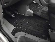 Genuine Volkswagen Crafter Rubber Floor Mats Front Set 7C Model 2017-Current
