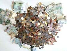 More details for huge job lot of over 7kg foreign coins and bank notes